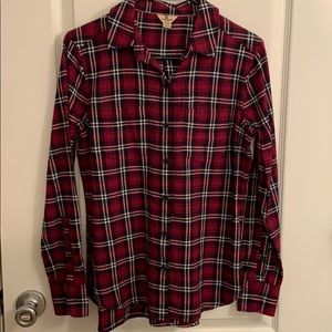 WOOLRICH long sleeve flannel size S